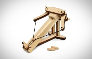 wooden ballista launcher Knuckle Dragger Magazine