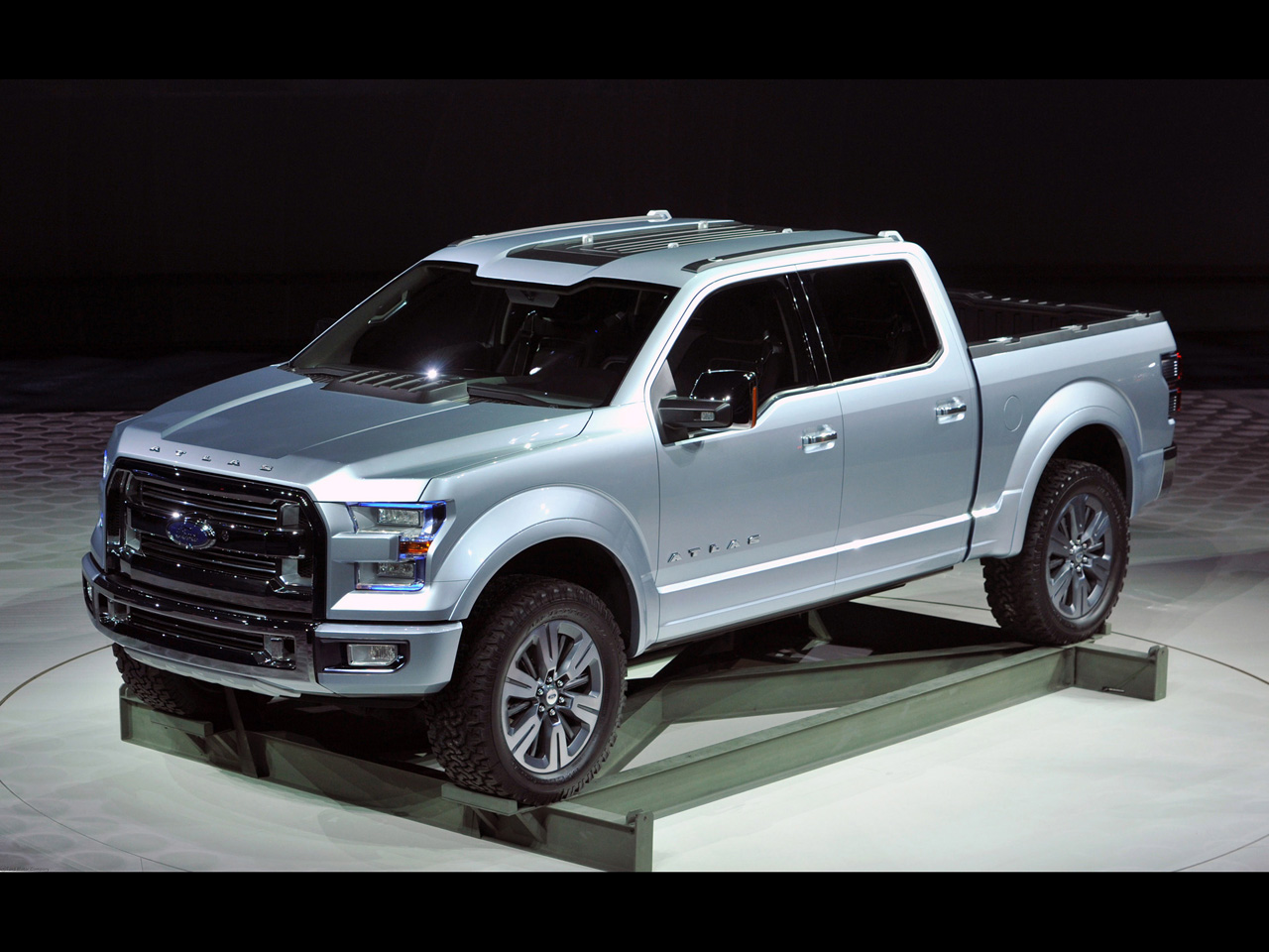 2014 Ford F150 For Sale >> 2013 Ford Atlas Concept Truck – KnuckleDragger Magazine