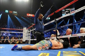 Manny Pacquiao knocked-out Knuckle Dragger Magazine