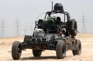Desert Patrol vehicle knuckle Dragger Magazine