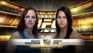 Jessica Evil Eye vs Sarah Kaufman