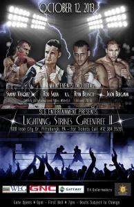 Rod Salka - Lightning Strikes Greentree II Poster (Final)