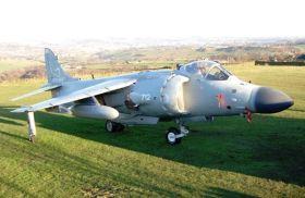 Sea Harrier FA2 Jump Jet Knuckle Dragger Magazine