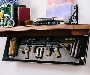 Hideaway Gun Shelf Knuckledragger Magazine